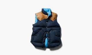SOPHNET. x Rocky Mountain Featherbed Co Fall/Winter 2013 Down Vests