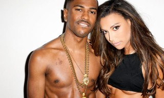 Big Sean and Naya Rivera at Terry Richardson's Studio