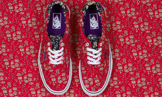 Vans x Liberty Art Fabrics Holiday 2013 Capsule Collection