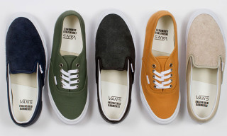 Vault by Vans x Engineered Garments Fall 2013 Footwear Collection