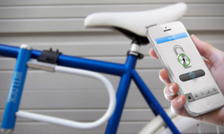 Bitlock, the Smartphone-Controlled Bike Lock