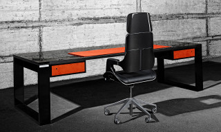 "John & Table ""Race"" Carbon Fiber Table"
