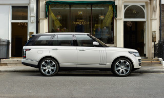 Land Rover Announces Range Rover Long Wheelbase and Autobiography Black Models