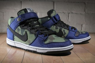 "info for 4d0f1 00989 Made for Skate x Nike SB Dunk Mid ""Royal Camo"""