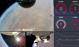 Red Bull Stratos Releases Complete POV Footage of Felix Baumgartner's Epic Free Fall