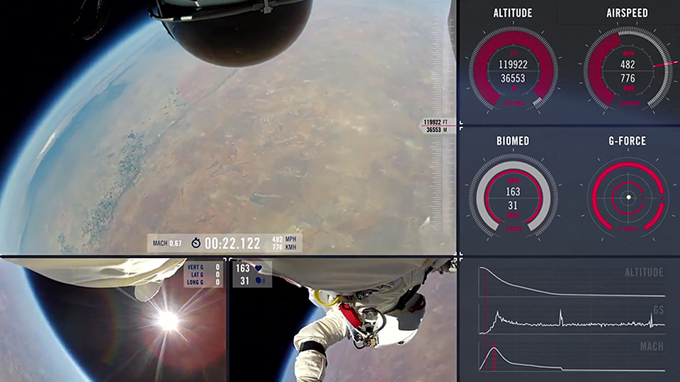 Red Bull Stratos Releases Complete Pov Footage Of Felix