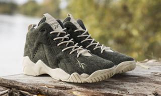 "Sneakersnstuff x Reebok Kamikaze II Mid ""Herringbone"""