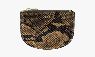 A.P.C. Python Coin Wallets