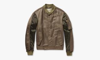 Balenciaga Paneled Bomber Jacket