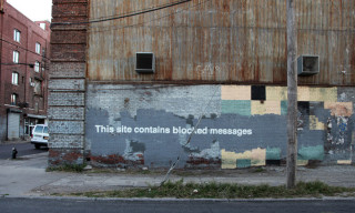 "Banksy ""Better Out Than In"" Day 27 – 'Blocked Messages'"
