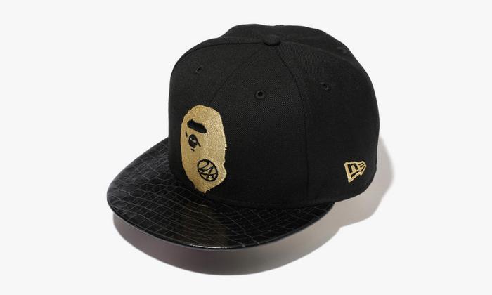 24karats x bape new era snapback cap highsnobiety