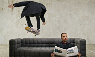 "Eric Koston ""High Flying Pizza"" Editorial for 'Esquire' Russia"