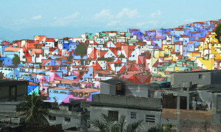 Favela Painting Project by haas&hahn