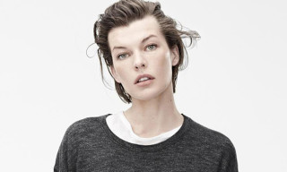 Isabel Marant for H&M Ad Campaign featuring Guillaume Macé and Milla Jovovich