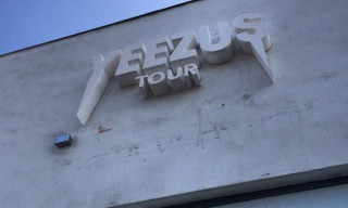 Kanye West Opens 'Yeezus' Tour Pop-Up Shop