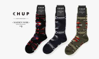 Maiden Noir x CHUP Socks