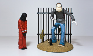 "Win the Banksy Figure from Mike Leavitt's ""Art Army"""