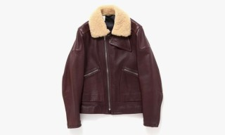 N.HOOLYWOOD Leather Flight Jacket