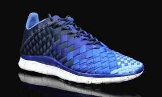 Nike Free Inneva Woven Obsidian/Deep Royal Blue