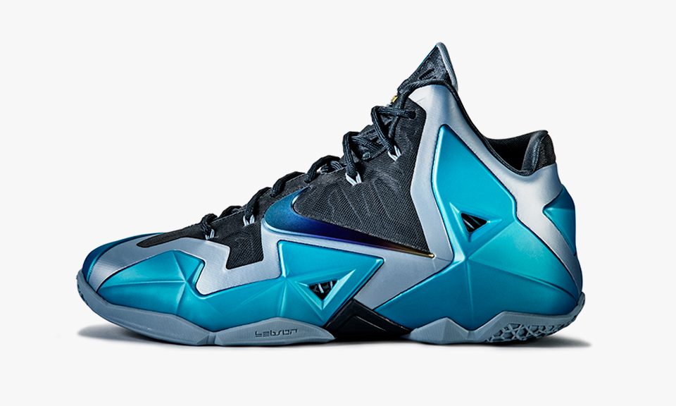 "Nike LeBron 11 ""Gamma Blue"" | Highsnobiety"