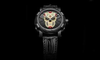 """Romain Jerome """"Dia de los Muertos Diamante"""" Watches"""