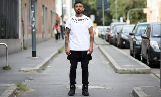 Street Style: Rodrigo Garcia in Satamorte, SUPER, Levi's and Air Jordans