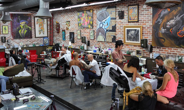 Tattoo Parlors In Nyc