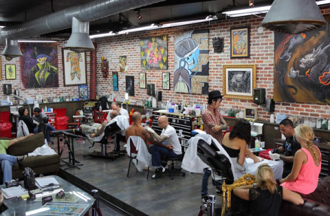 10 of the best tattoo parlors in the u s highsnobiety for Tattoo shops in columbus