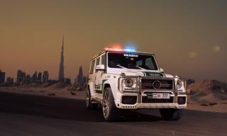 Brabus Mercedes-Benz G63 AMG Joins Dubai Police Fleet