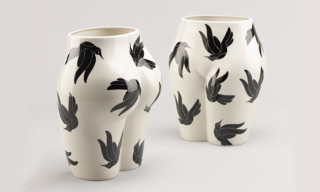 "CASE STUDYO x Parra ""Vaso Di Culo"" Porcelain Vase"