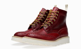 End x Tricker's Vibram Sole Stow Brogue Boot
