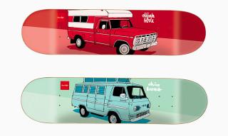 "Evan Hecox x Chocolate Skateboards 2013 ""Vagabond"" Collection"