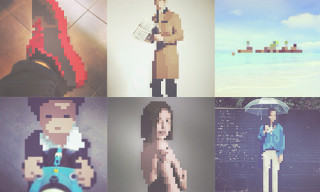 "Turn Your Friends Into Pixel Art with ""I PIXEL U"""