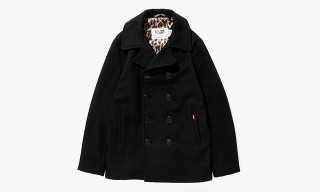Stussy x Schott NYC Winter 2013 Savannah Pea Coat