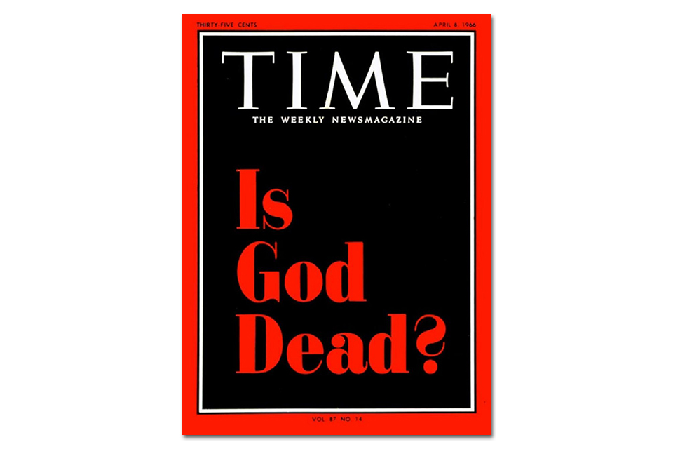 "Image result for Time Cover ""Is God Dead?"""