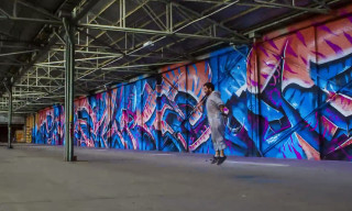 """Limitless,"" a Time-Lapse Graffiti Video featuring Sofles"