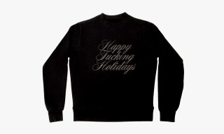 "Atrium Wooster ""Happy F*cking Holidays"" Sweater"