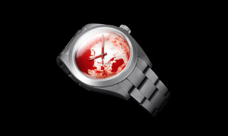 "Bamford Watch Department x Marc Quinn ""Red Ocean Orbit"" Milgauss"