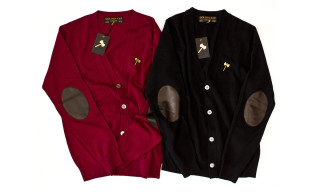 Golden Axe Four-Button Cashmere Cardigans
