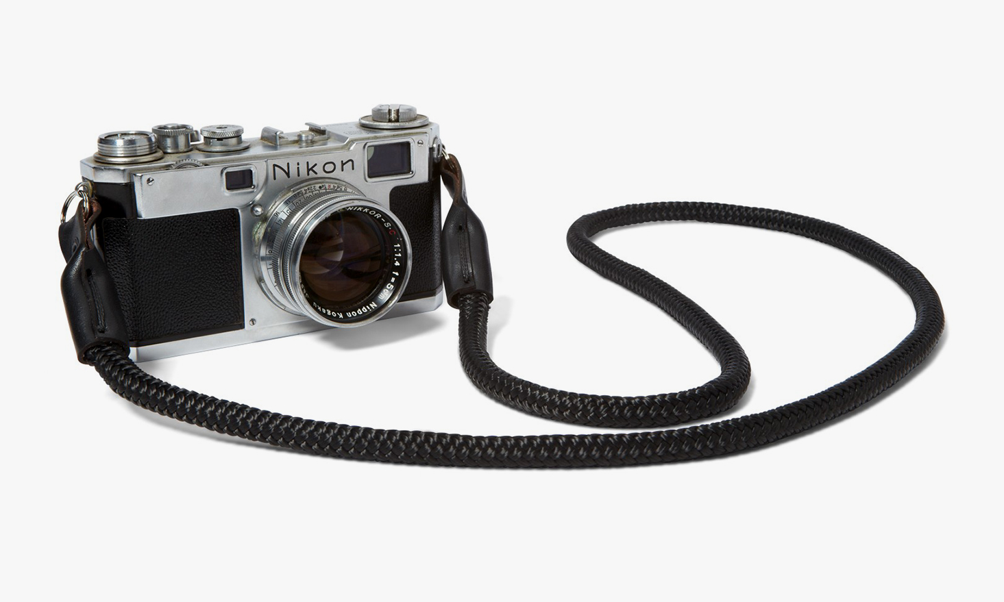KILLSPENCER Bridle Leather Amp Paracord Camera Strap