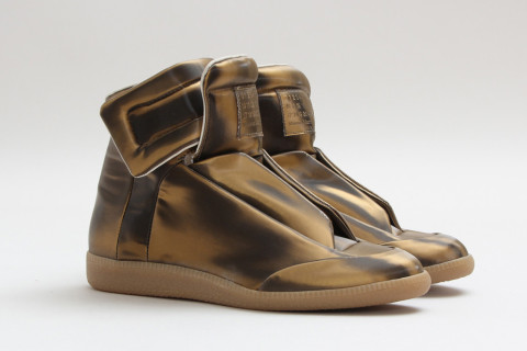 "Maison Martin Margiela ""Bronze"" High Top Sneaker"
