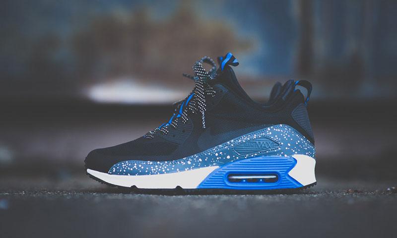 Nike Air Max 90 Sneaker Boot NS Army Green Black