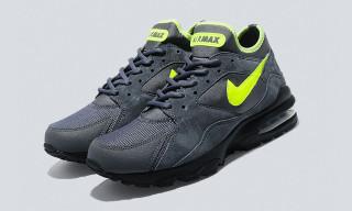 Nike Air Max 93 Dark Grey/Volt – size? exclusive