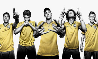 Nike Football Unveils 2014 Brazilian National Team Kit