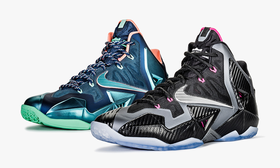 nike lebron 11 �akron vs miamiquot and quotmiami nights