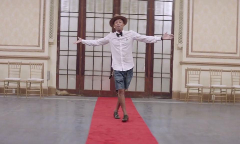 Music-less Happy video will make Pharrell Williams cry again |Pharrell Happy Girl