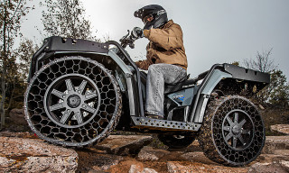Polaris Sportsman WV850 H.O. with Terrain Armor Non-Pneumatic Tires