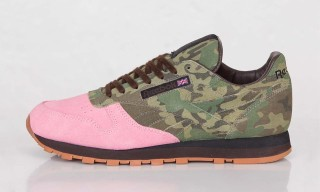"Shoe Gallery x Reebok Classic Leather R12 ""Flamingoes at War"""