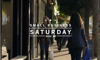 Shop Small® on Small Business Saturday®, November 30 – In Partnership with American Express