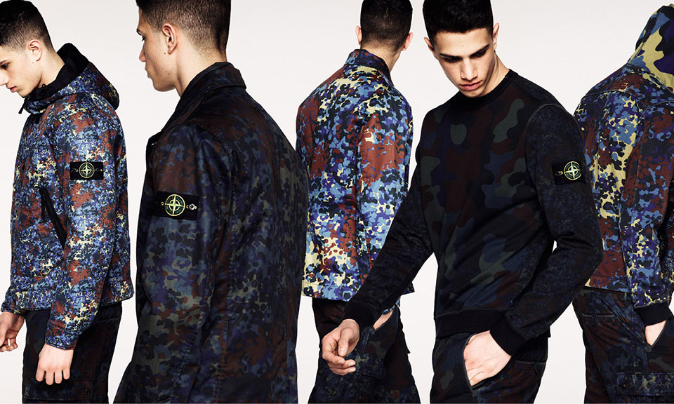 Stone Island Color Changing Jacket